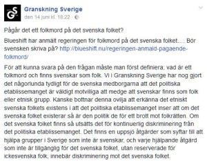 Granskning Sverige antisemitism