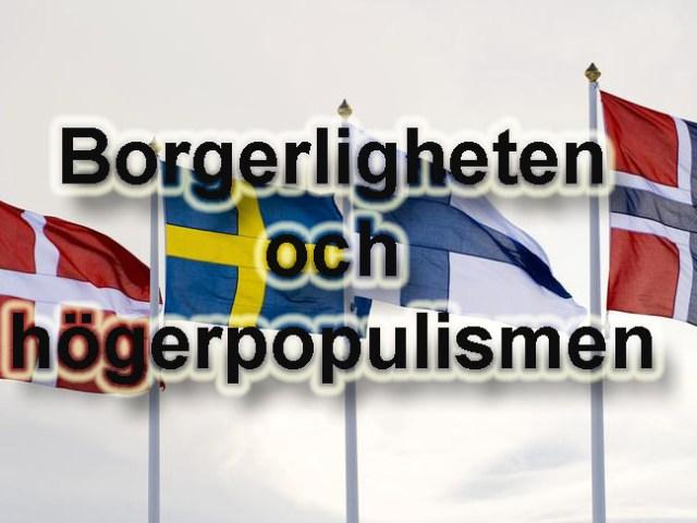 Borgerligheten och högerpopulismen