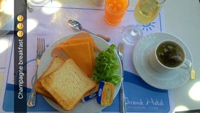 Grand Hotel Crete review champagne