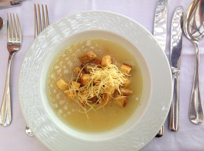 Grand Hotel Crete review restaurant food soup