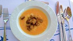 Grand Hotel Crete review restaurant soup