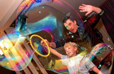 Вкладка мыльные пузыри