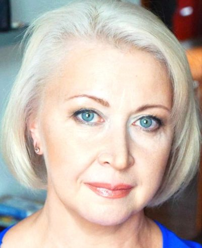 Макияж для голубых глаз на свадьбу для гостей