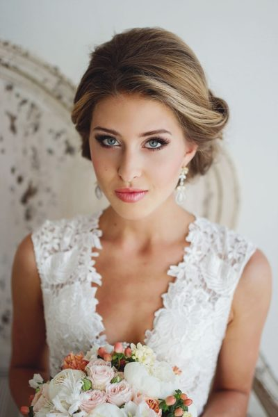Образ невесты для свадьбы в стиле Шик