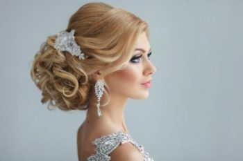 Макияж невесты с акцентом на линию глаз