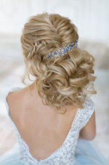 Свадебная прическа для свадьбы в стиле Лофт
