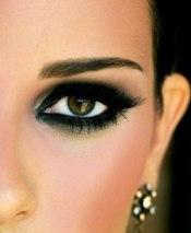 Вечерний макияж глаз недорого на дом