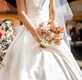 Букет невесты для кофейной свадьбы
