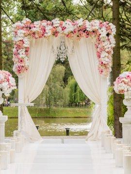 Оформление свадьбы недорого Икша