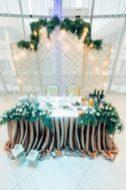 Оформление свадьбы в изумрудном цвете Москва