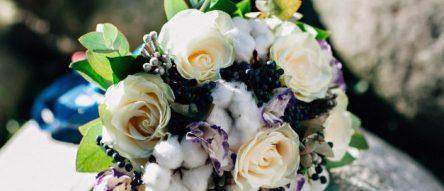 Букет невесты в стиле тиффани