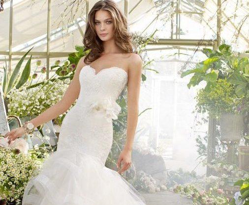 Свадебный образ юной невесты