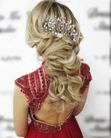 вечерняя прическа греческая коса