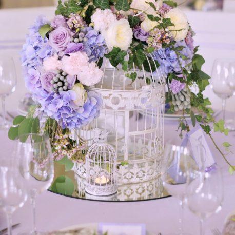 Украшение свадьбы живыми цветами Москва