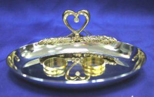 Блюдце для колец на свадьбу