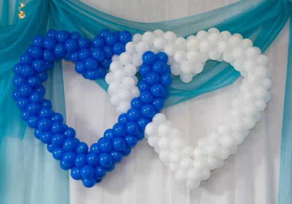 Оформление свадеб шарами цены Мытищи