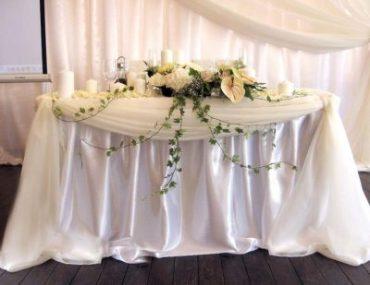 Оформление свадебного зала в желтом цвете цена