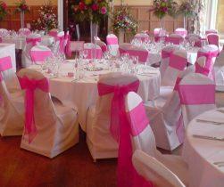 Оформление свадебного зала в фуксия цвете стоимость