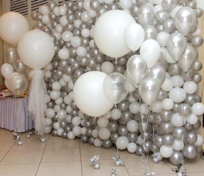 Оформление свадьбы шарами недорого Лобня