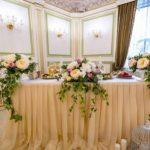 Оформление свадьбы живыми цветами