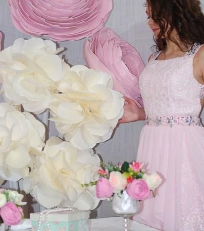 Ростовые цветы на день рождение девочке