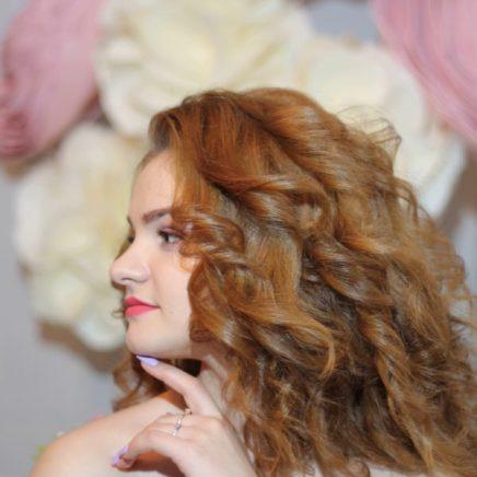 Свадебная прическа на волосы средней длины Москва Макияж на выпускной бал Москва