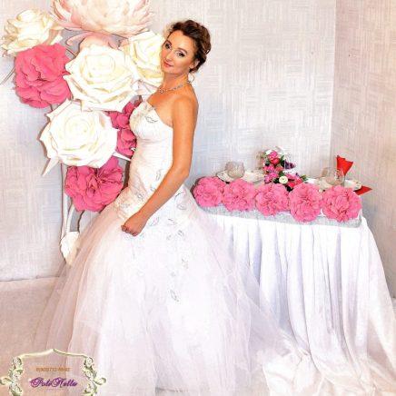 Ростовые цветы на свадьбу Москва