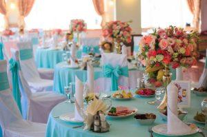 свадьба в мятном цвете Лобня