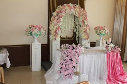 Свадьба в розовом цвете Москва оформление зала