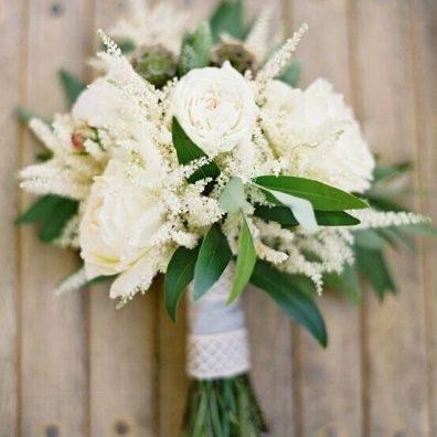 Свадебный букет в стиле прованс