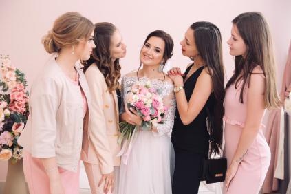 Персиковая свадьба организация Москва