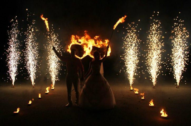 Феерверк на свадьбу