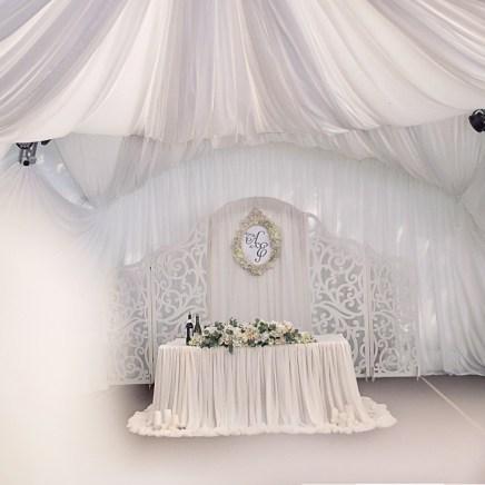 Свадьба в белом фотография