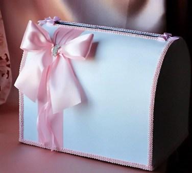 Сундучок для подарков на свадьбу