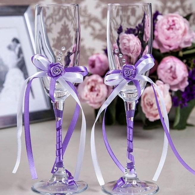 Бокалы на свадьбу купить Москва
