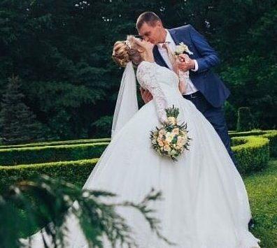 Организация свадьбы в голубом