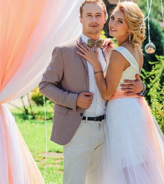 Оформление свадебной арки