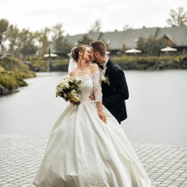 Фото свадьба невеста с фатой