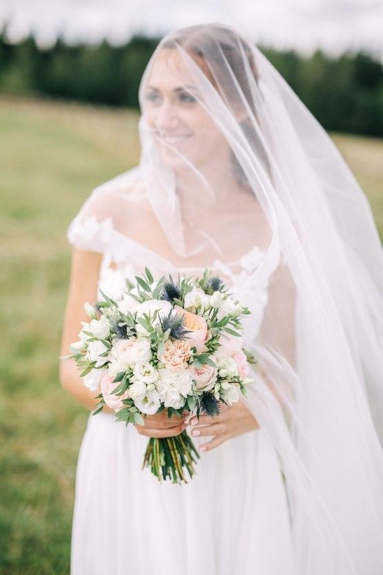 Букет невесты на свадьбу фото
