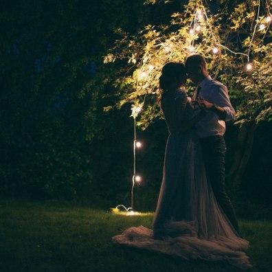 Организация свадьбы вечером