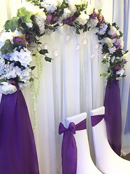 Свадьба зал оформление