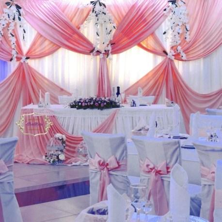 Украшение свадебного шатра в стиле шик