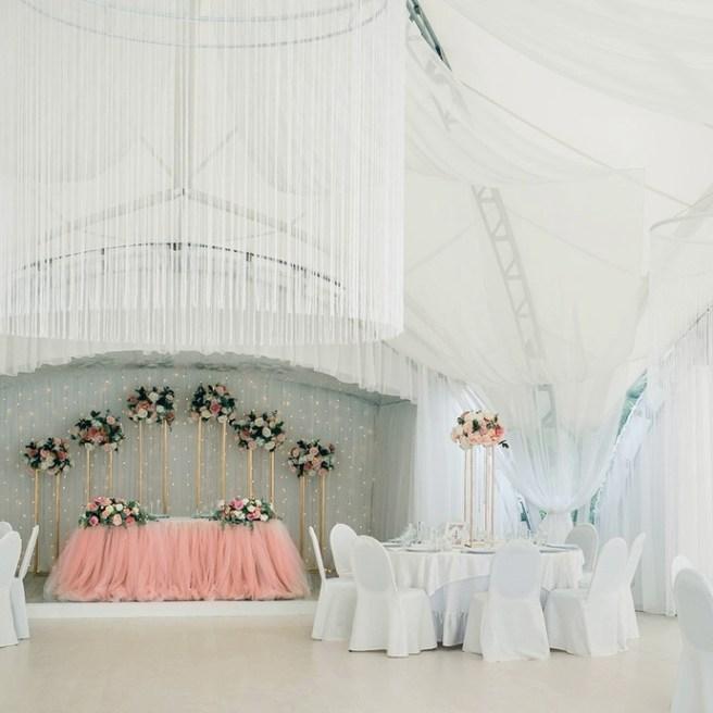 Элегантный кантри стиль свадьбы