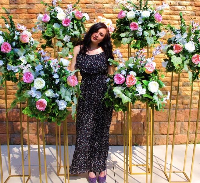 Лофт цветочные стойки геометрия