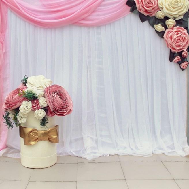 Свадьба большие цветы
