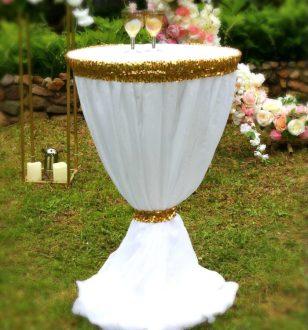 Свадебная арка круглая прокат