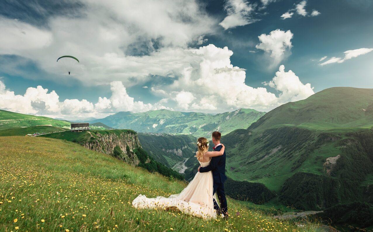 Свадьба на природе недорого