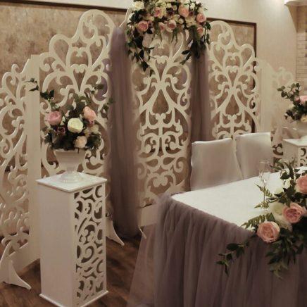 Украшение зала на свадьбу в стиле Прованс Москва