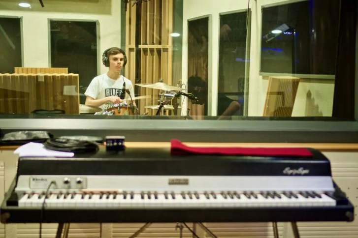Polinote-in studio di registrazione 12
