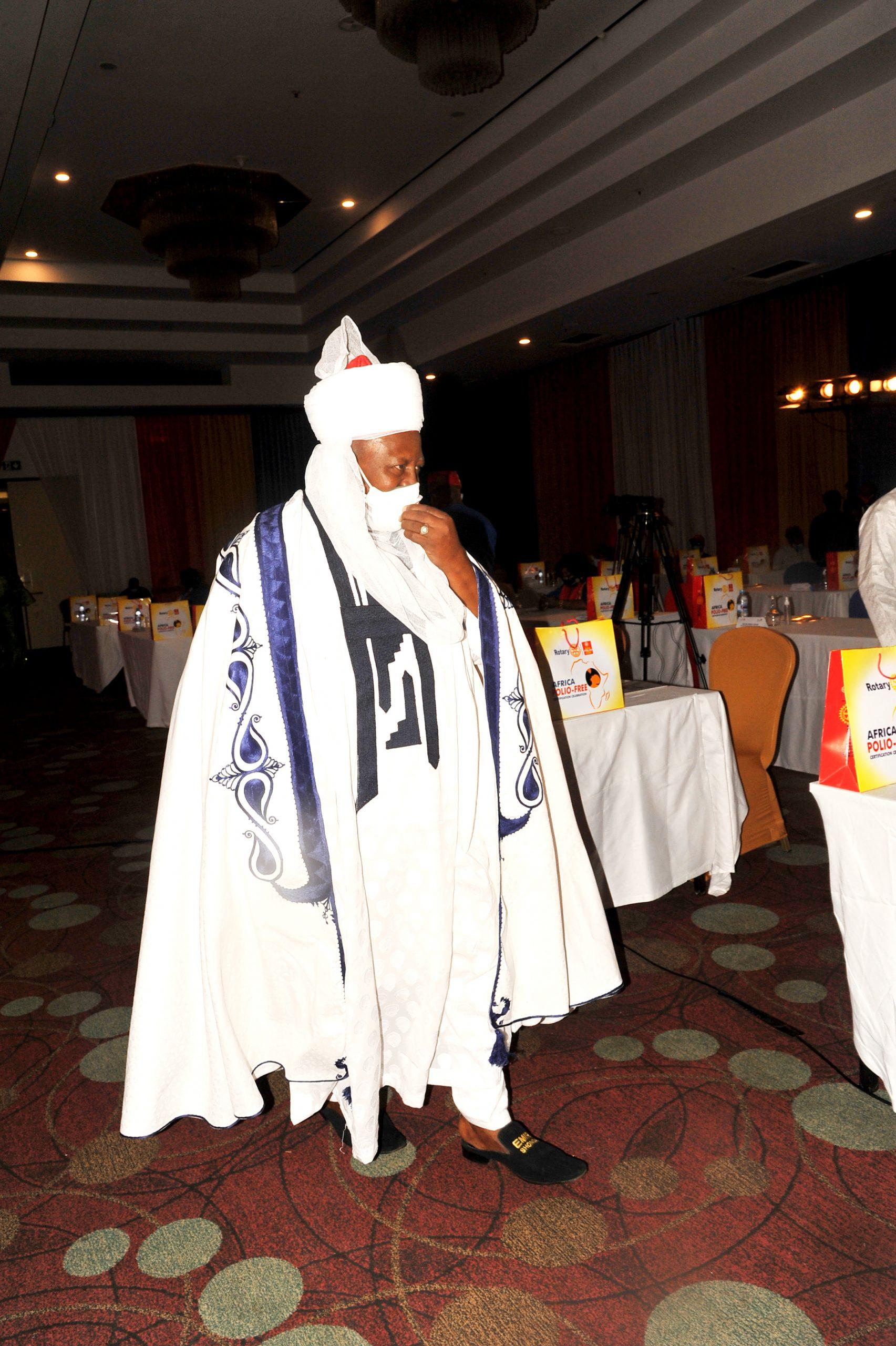 HRM. Dr. Haliru Yahaya Emir of Shonga,Kwara State.